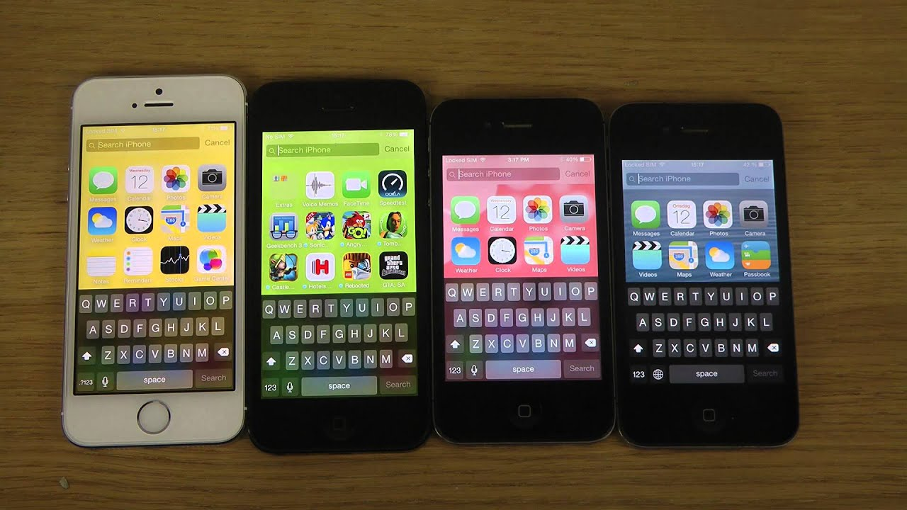 iphone 5s vs iphone 7 comparison
