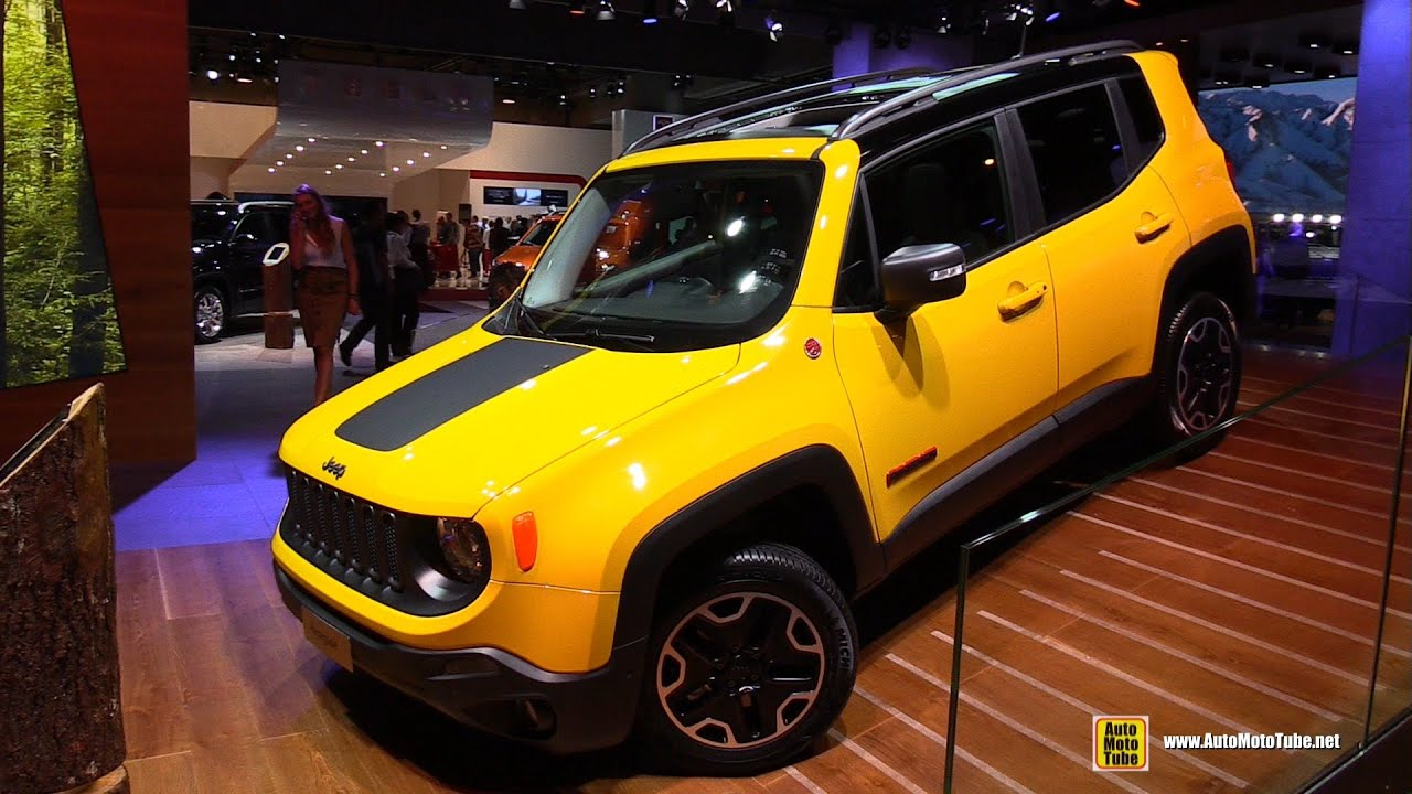 2015 Jeep Renegade Diesel Trail Hawk Exterior Walkaround