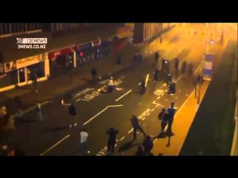 UK riots 2011: Riots spread to Liverpool