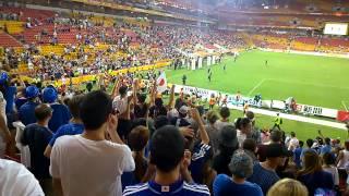 【サッカーアジアカップ】イラク戦後に報道陣が群がった先には...