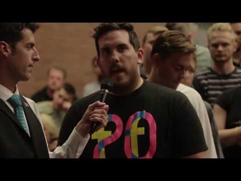 "Ben Shapiro ""Crushes"" Atheist Question"