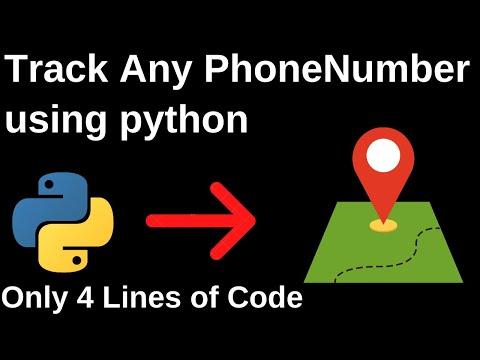 Track Phone Number Country Location Using Python