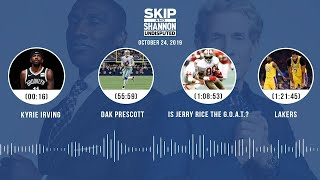 UNDISPUTED Audio Podcast (10.24.19) with Skip Bayless, Shannon Sharpe & Jenny Taft | UNDISPUTED