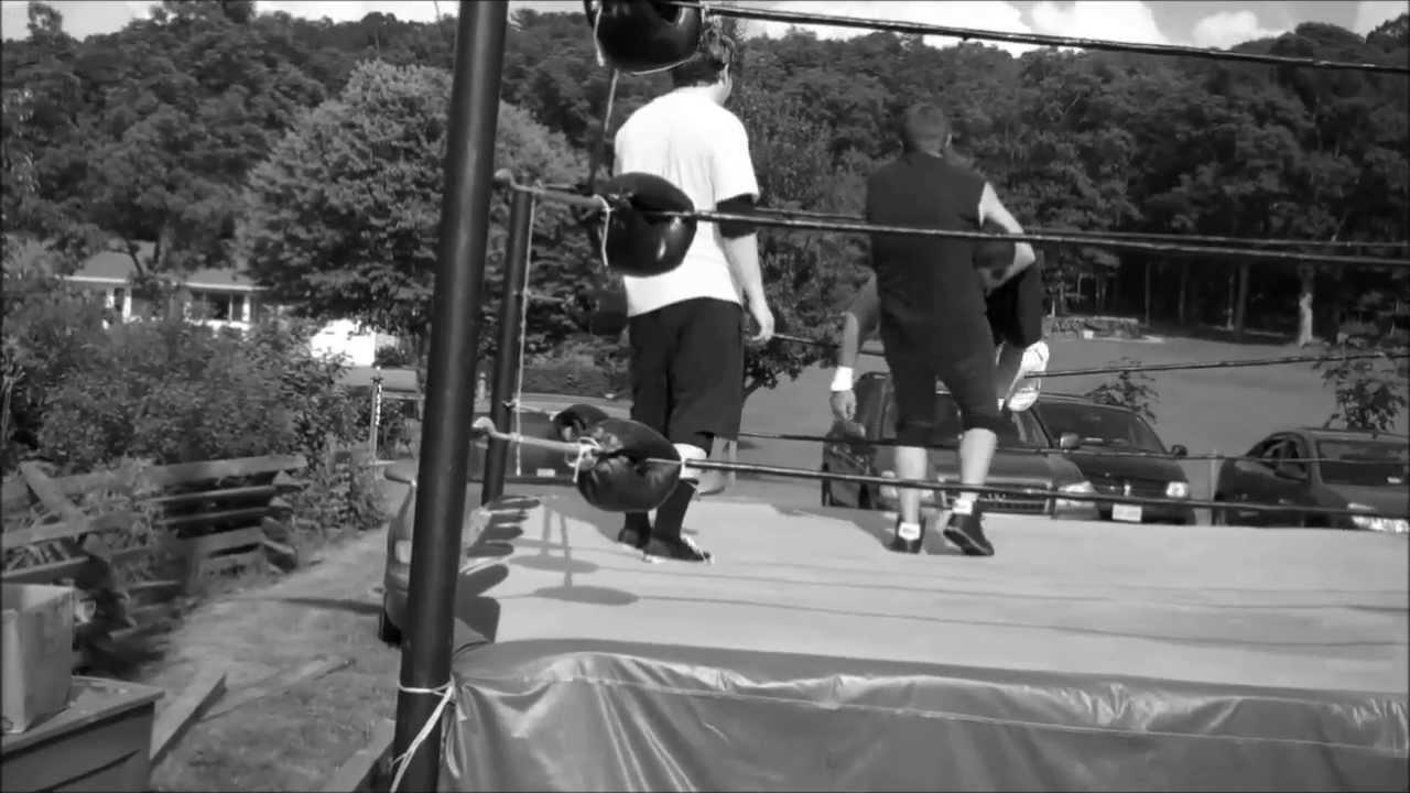 backyard wrestling in real ring youtube