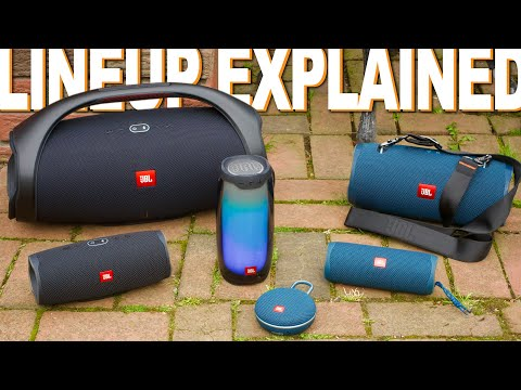 JBL Speaker Lineup Explained - Which One Is Right For You?