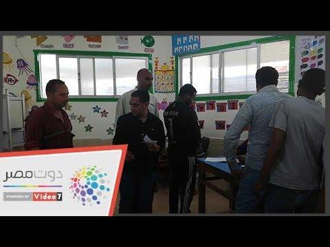 طوابير العاملين بالسياحة فى الغردقة للمشاركة بالاستفتاء  - 12:55-2019 / 4 / 20