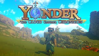Yonder : The Cloud Catcher Chronicles - Stardew 2? - Lets Play Yonder Gameplay