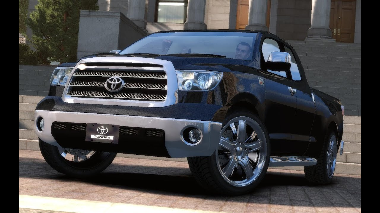 Toyota Tundra Iforce V8 Toyota Tundra 5.7 iForce V8 2011 [Beta] quick look (GTA 4) - YouTube