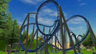 rct3 rollercoaster tycoon 3 blue thunder