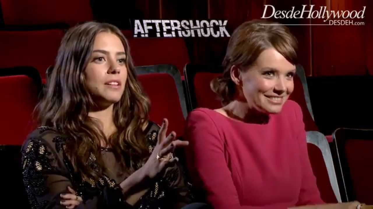 Andrea Osvart Hot Pics lorenza izzo, andrea osvárt: aftershock exclusive interview