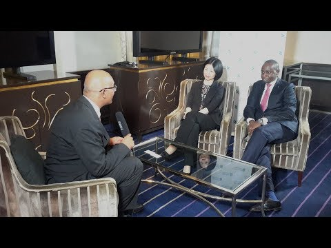 Joint Interview with Jean Lu @StanChart China, Chris Kirigua @StanChart Kenya.
