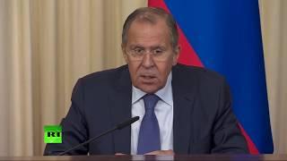 Пресс конференция глав МИД России и Испании