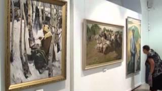 видео Художественные выставки