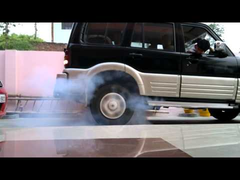 mahindra scorpio burnout - this time something unique  happened