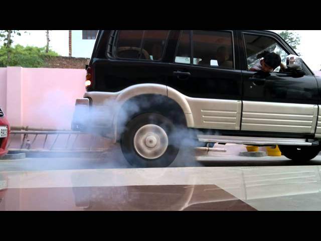 mahindra scorpio burnout - this time something unique is happened Travel Video