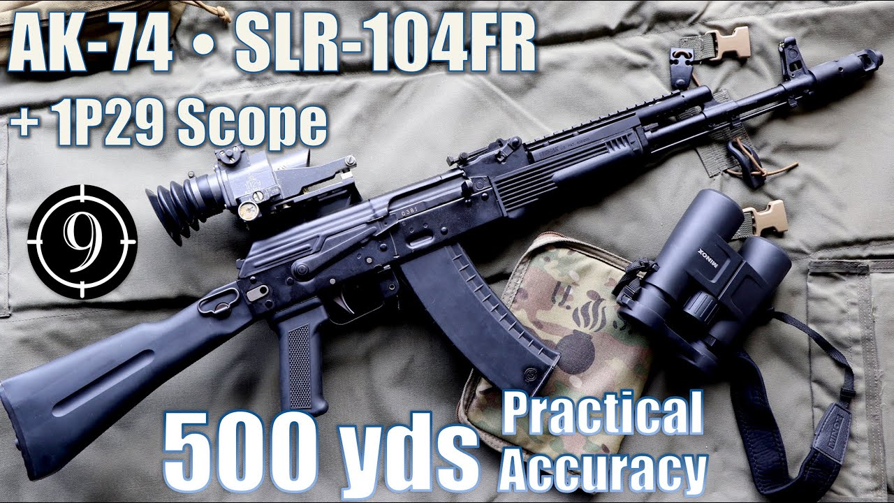 Download SLR104FR (AK74) • 1p29 scope to 500yds: Practical Accuracy