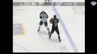 Matt Puempel vs Jake Dotchin Dec 18, 2015