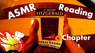 ASMR Whispered Reading: The Great Gatsby Ch.1