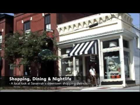 Shopping, Dining and Nightlife - Savannah Georgia's Shopping Districts