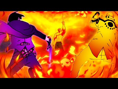 Эсканор попал в мир Боруто и сразился с Наруто и Саске ӏ Альтернативный сюжет #2