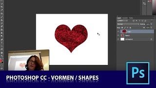 les 2-2   Vormen - Shapes  (Dutch Photoshop tutorial)