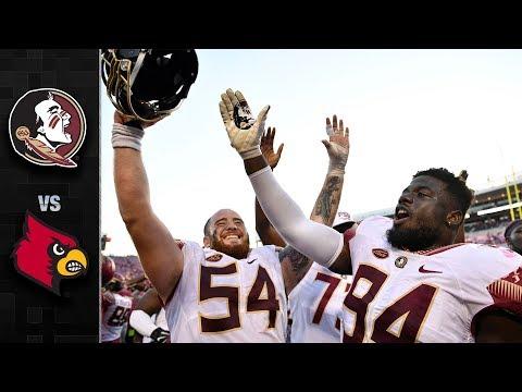 Florida State vs. Louisville Football Highlights (2018)