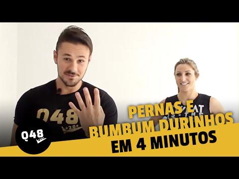 Pernas e bumbum durinhos em 4 minutos - Q48 | Vinícius Possebon
