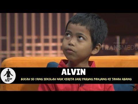 ALVIN, SEKOLAH NAIK KERETA DARI PARUNG PANJANG KE TANAH ABANG | HITAM PUTIH (18/04/18) 3-4