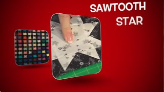 The Quilt Show: How To Make A Sawtooth Star Quilt Block
