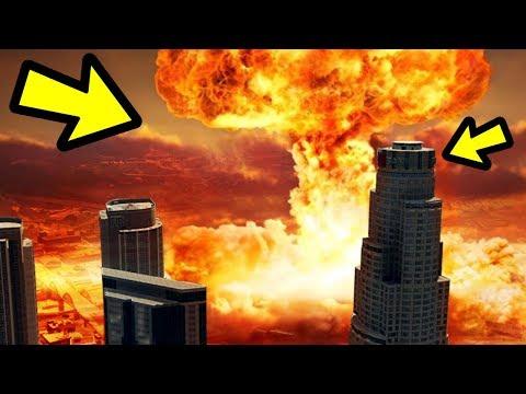 GTA 5 - What Happens if You Drop a NUKE on Los Santos?