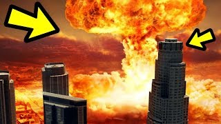 GTA 5 - What Happens if You Drop a NUKE on Los Santos?
