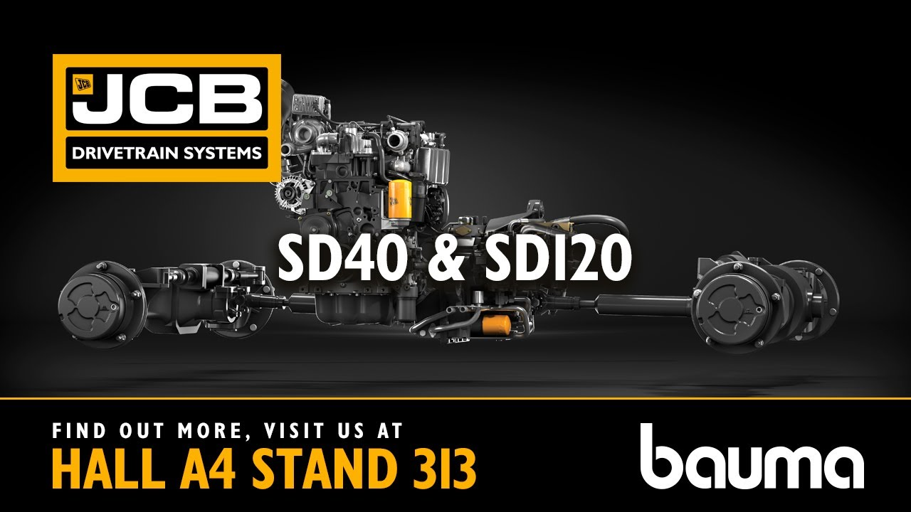 JCB Drivetrain Systems - Axles at BAUMA 2019