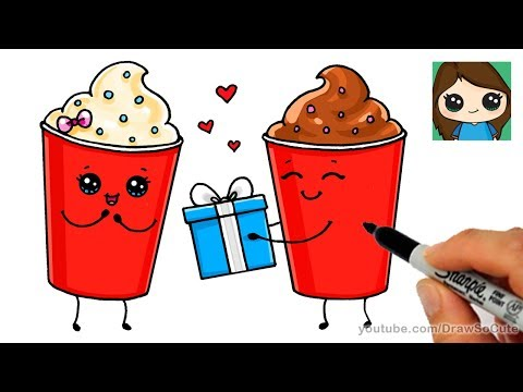 How to Draw Frosty Ice Cream Cute and Easy | Cartoon Food