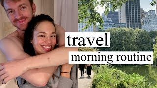 Our morning in New York