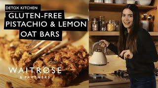 The Detox Kitchen Gluten-free Pistachio and Lemon Oat Bars | Waitrose