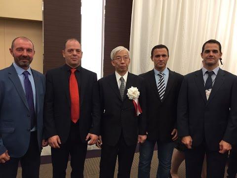 Roberto Sánchez Aikido. 12º Congreso FIA Takasaki (Japón)