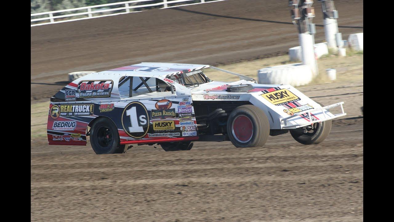 Stock Car Stampede IMCA Mod Feature - Jamestown Speedway