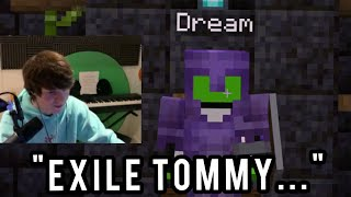 Dream has a Meeting with Tubbo and Dream gets ANGRY on the Dream SMP!!