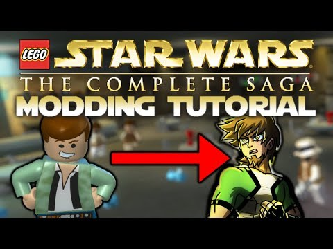 LEGO Star Wars: The Complete Saga - Character Modding Tutorial