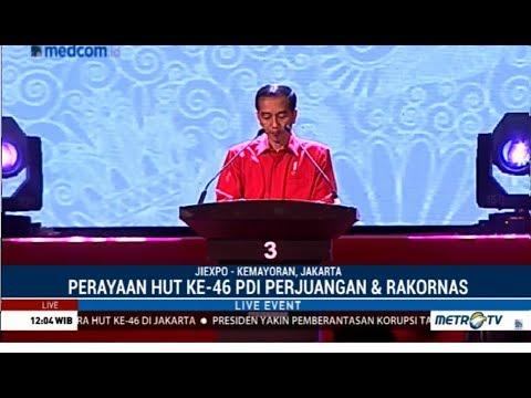 Detik-detik Jokowi Berhenti Pidato Ketika Mendengar Suara Adzan