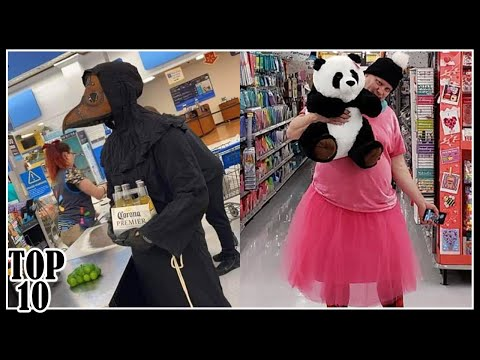 Top 10 Funny People At Walmart