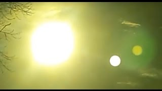Planet Nibiru Visible Next To Sun Using A Shaded Lens - Argentina August 2016
