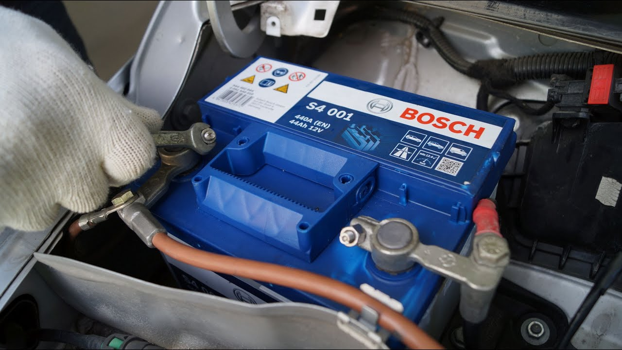 Opel Corsa  Battery Replacement  YouTube