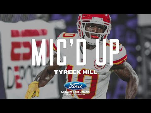 Tyreek Hill Mic'd Up: