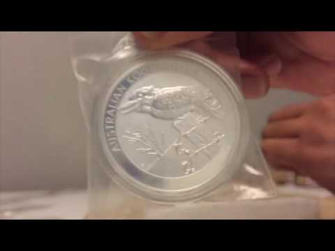 First Silver Coins Unboxing!