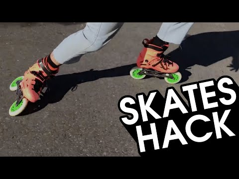 HOW TO GET USED TO NEW INLINE SKATES OR WHEELS QUICK - INLINE SKATING HACK // VLOG 171