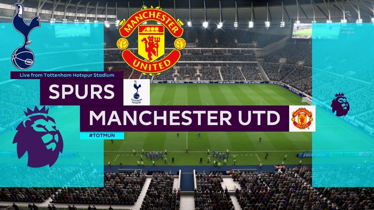 Tottenham vs Manchester United 2020   Week 30   Premier League ...