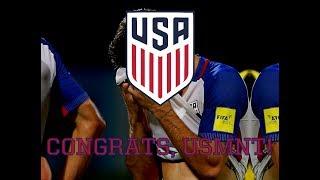 Congrats, USMNT!