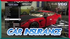 HOW TO GET INSURANCE AND TRACKING FOR YOUR CAR IN GTA 5 ONLINE!