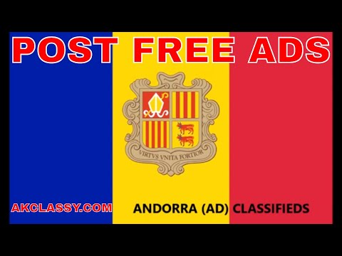 ANDORRA LOCAL CLASSIFIEDS: How to Post Free Ads Online | Jobs/Cars/Buy & Sell Website AKClassy.com